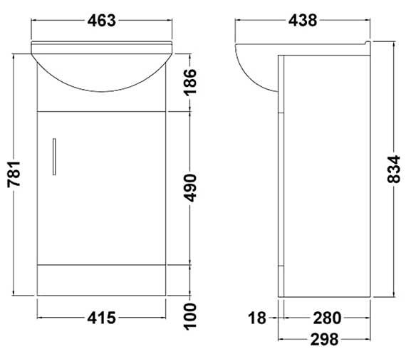 Technical drawing QS-V27970 / VTY450