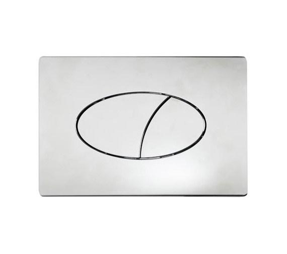 Tavistock Ellipse Dual Flush Push Plate - ELFP