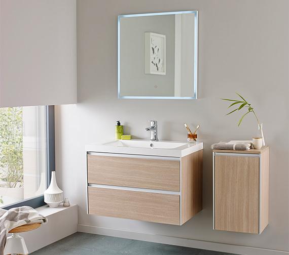 Hudson Reed Erin 800mm Furniture Pack Light Oak