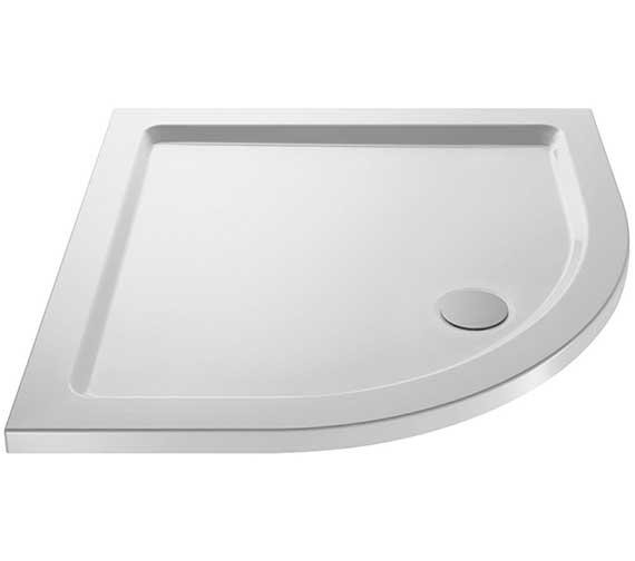Premier Pearlstone 1000 x 1000mm Quadrant Shower Tray