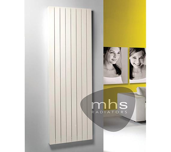 MHS Zaros Vertical Aluminium Designer Radiator 525 x 1800mm
