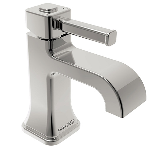 Heritage Somersby 1 Taphole Basin Mixer Tap