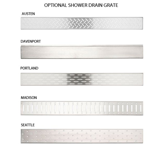 Alternate image of Aqualux Aqua 8 Vibe Walk In Shower Panel 1000mm - 1159238