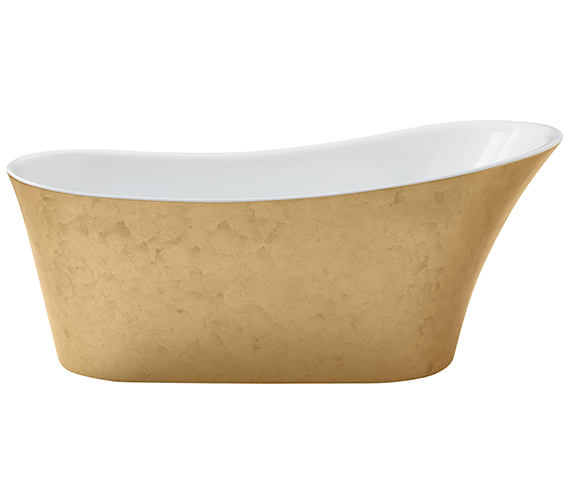 Additional image of Heritage Holywell 1710 x 745mm Copper Freestanding Acrylic Bath
