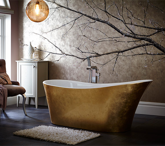 Heritage Holywell 1710 x 745mm Copper Freestanding Acrylic Bath