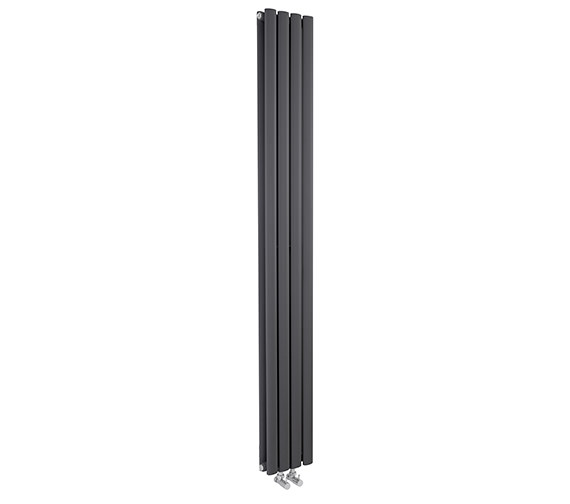 Additional image of Hudson Reed Revive 236 x 1800mm Compact Double Panel Vertical Radiator