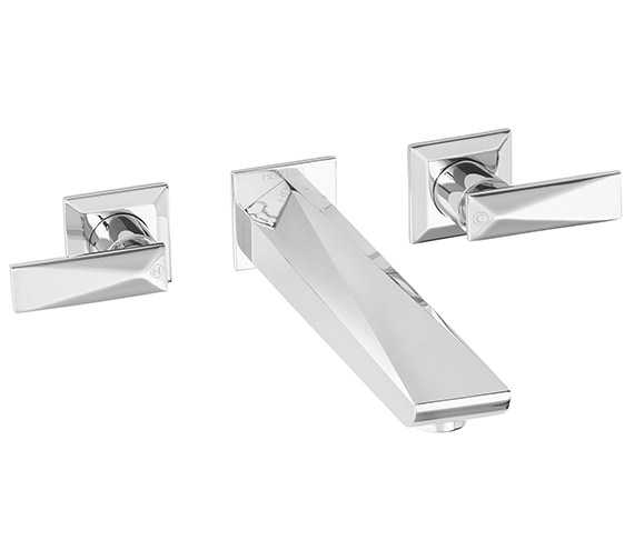 Heritage Hemsby Chrome Wall Mounted Bath Filler Tap