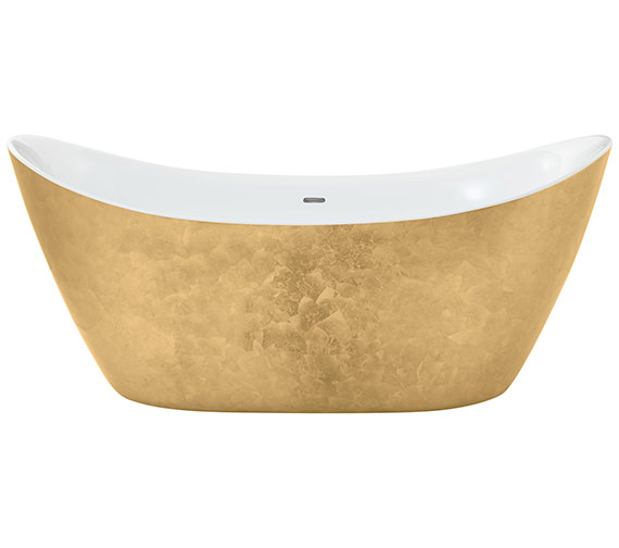 Additional image of Heritage Hylton Freestanding Copper Effect Acrylic Bath 1730 x 730mm