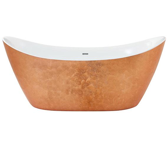 Heritage Hylton Freestanding Copper Effect Acrylic Bath 1730 x 730mm