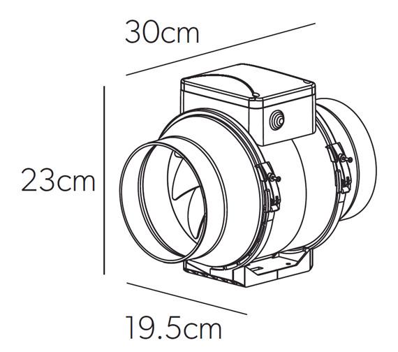 Technical drawing QS-V7058 / 33800