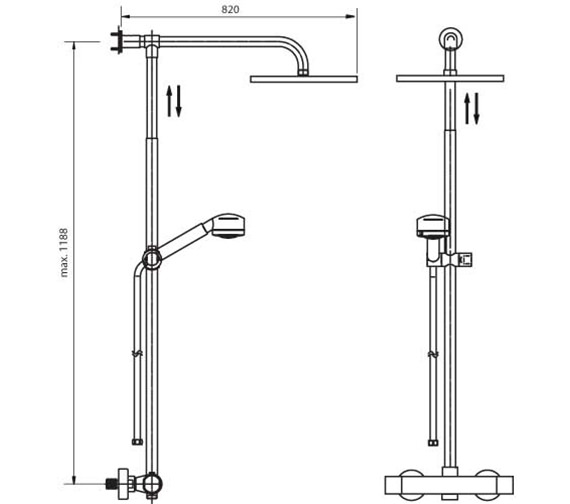 Technical drawing QS-V7067 / 1138990