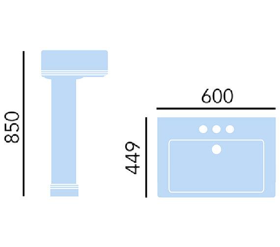 Technical drawing QS-V10351 / PWYW051