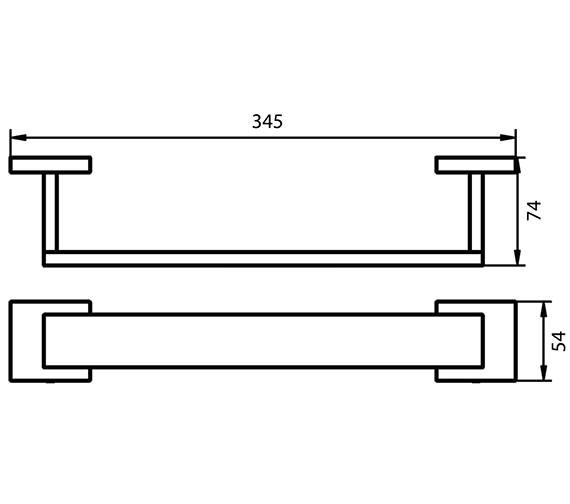 Technical drawing QS-V7095 / 1190799
