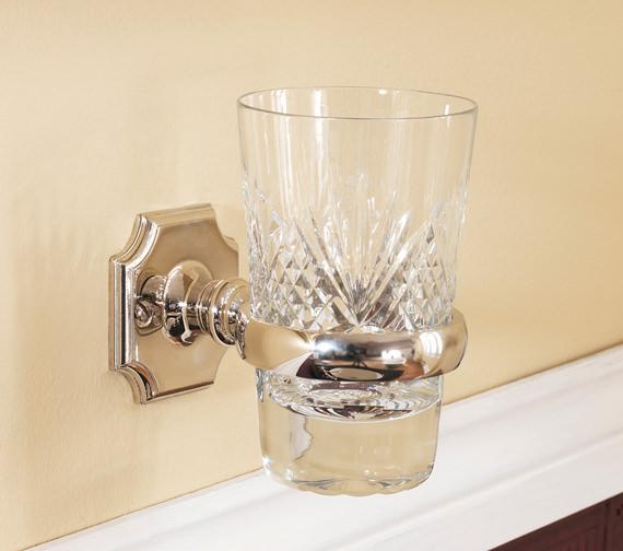 Silverdale Victorian Tumbler Glass Holder Nickel - VCSTHMTLNIK