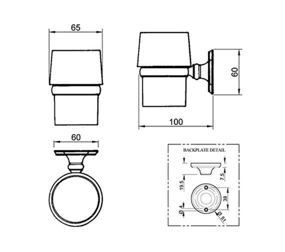 Technical drawing QS-V4234 / VCSTHMTLNIK