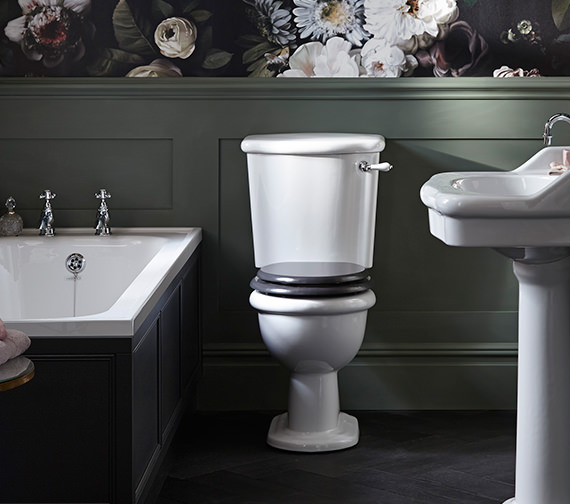 Heritage Victoria Standard Height Close Coupled WC And Cistern 735mm