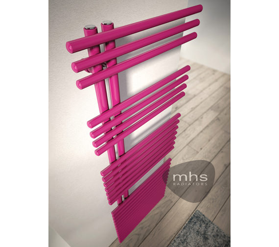 MHS Funky Dual Fuel Adjustable Towel Rail 600 x 1423mm
