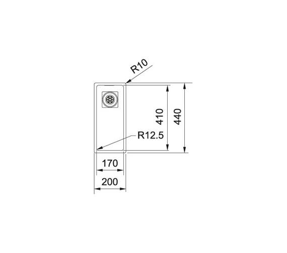 Technical drawing QS-V84002 / 1120360016