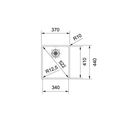 Technical drawing QS-V84003 / 1220360018
