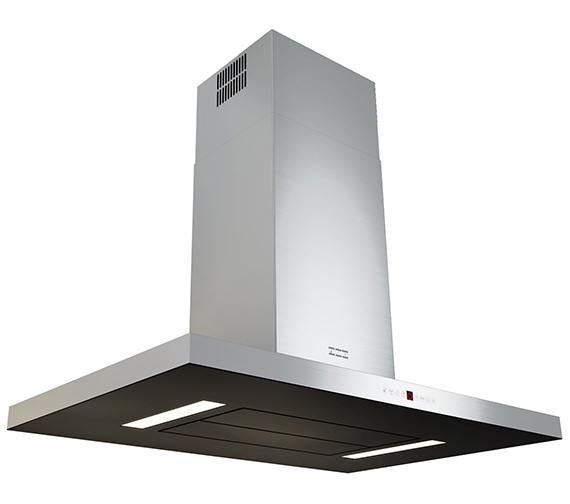 Franke Maris T-Shape 900mm FGB 906 IS AC Island Steel-Glass Kitchen Hood