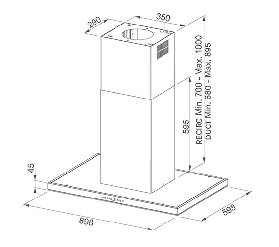 Technical drawing QS-V84010 / 1100338388