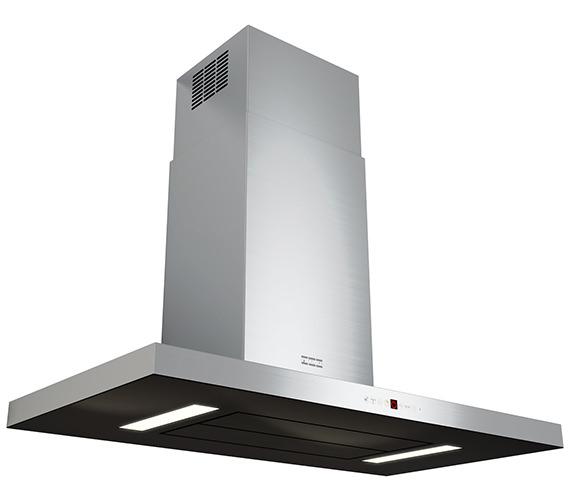 Franke Maris T-Shape 900mm FGB 906 W AC Wall Steel-Glass Kitchen Hood
