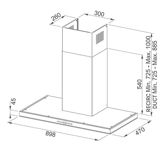 Technical drawing QS-V84011 / 1100338359