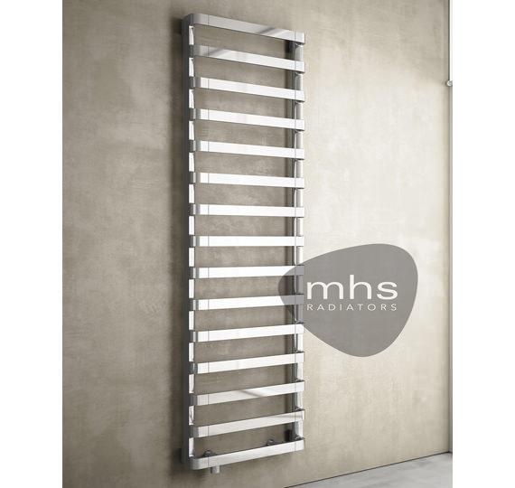 MHS Step-E Pearl White Electric Towel Rail 500 x 1255mm