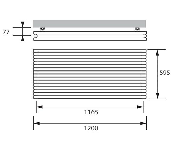 Technical drawing QS-V83273 / CHD011059120