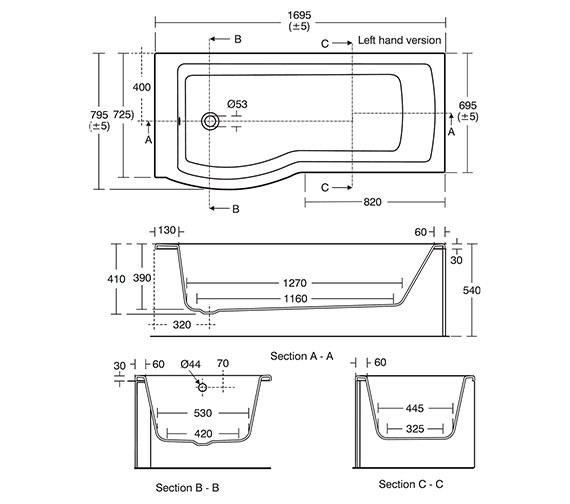 Technical drawing QS-V10422 / E256801
