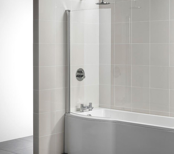 Ideal Standard Tempo Arc 820 x 1400mm Shower Bath Screen