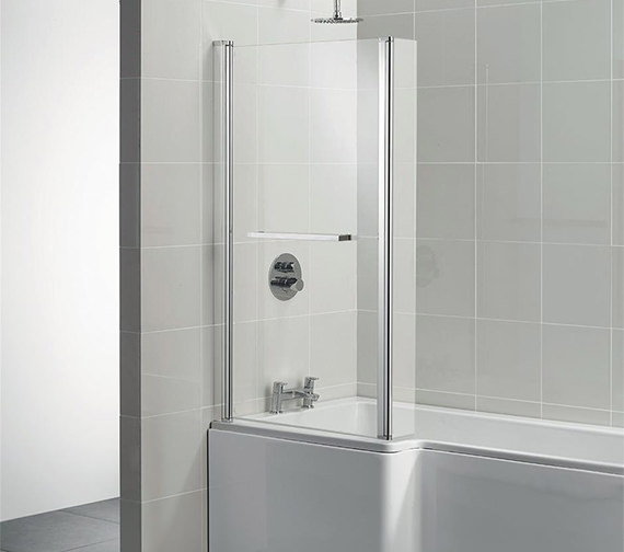 Ideal Standard Tempo Cube 830 x 1405mm Shower Bath Screen