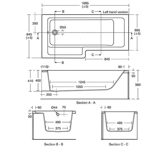 Technical drawing QS-V10434 / E259801