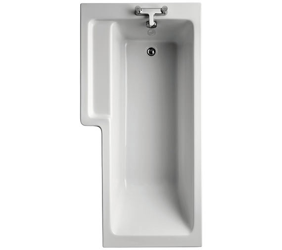 Ideal Standard Tempo Cube Idealform Left Hand 1700 x 850mm Shower Bath