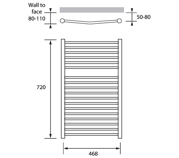 Technical drawing QS-V83210 / ACP042072050