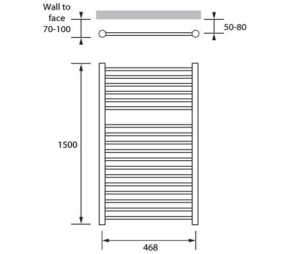 Technical drawing QS-V83202 / ASP043150050