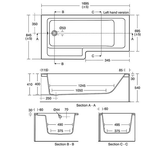 Technical drawing QS-V10441 / E259501