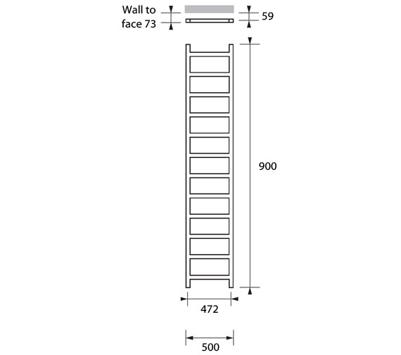 Technical drawing QS-V83224 / CLI041090050