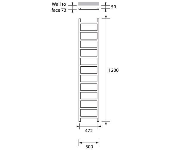 Technical drawing QS-V83226 / CLI041120050