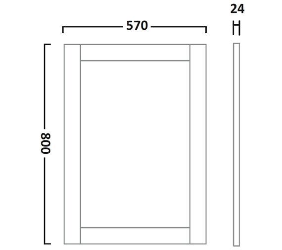 Technical drawing QS-V7221 / LAN600M.LW