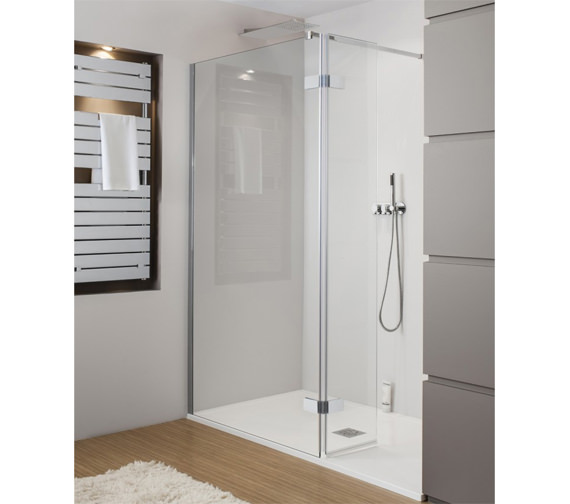 Simpsons Elite Walk In Easy Access Shower Enclosure 1050mm