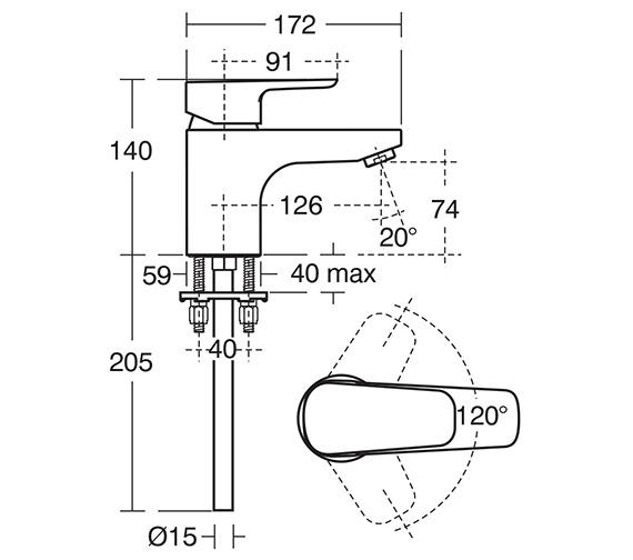 Technical drawing QS-V10449 / B0732AA
