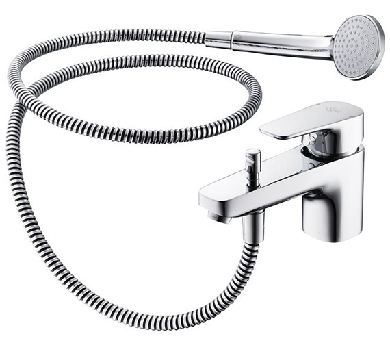 Ideal Standard Tempo 1 Hole Single Lever Bath Shower Mixer Tap