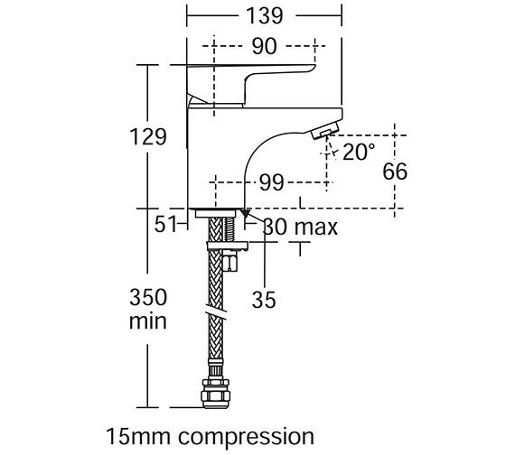Technical drawing QS-V10452 / B0764AA