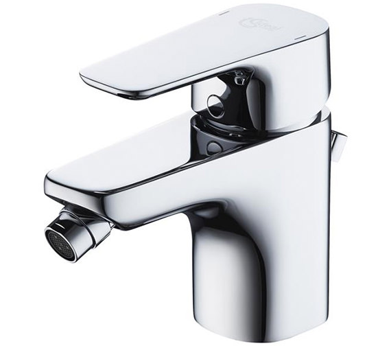 Ideal Standard Tempo Single Lever Bidet Mixer Tap With Pop-Up Waste