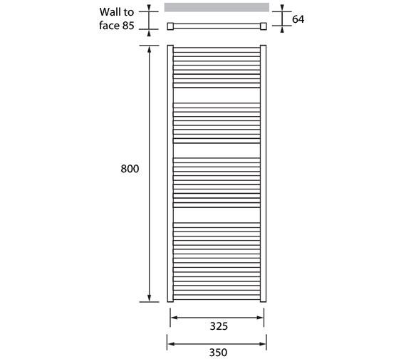 Technical drawing QS-V83165 / JAV 04 3 080350