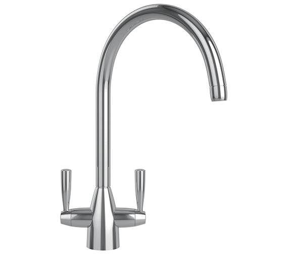 Additional image of Franke V And B Designer Pack VBK 110 50 Ceramic White Kitchen Sink And Tap