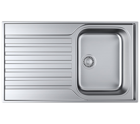 Franke Ascona ASX 611-860 Stainless Steel 1.0 Bowl Kitchen Inset Sink