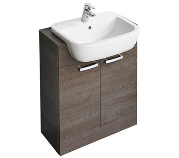 Additional image of Ideal Standard Tempo 550 x 450mm Semi-Countertop Washbasin
