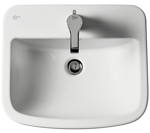 Ideal Standard Tempo 500mm 1 Tap Hole Countertop Washbasin